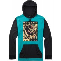 Burton midweight pullover hoodie baselayer top Burton Midweight Pullover Hoodie Baselayer Top