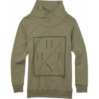 Burton-sterns-mockneck-sweatshirt Female Burton Fox Trot Sweatshirt