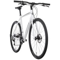 Framed course alloy flat bar bike with rival 22  alloy wheels Framed Course Alloy Flat Bar Bike Rival 22 Carbon Wheels