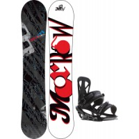 Morrow-fury-snowboard-with-rome-united-bindings Morrow Fury Snowboard With Rome United Bindings