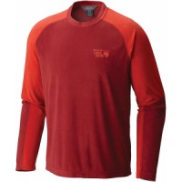 Mountain hardwear microchill lite long sleeve crew shirt Mammut Yadkin Ml Half Zip Pull Baselayer Top