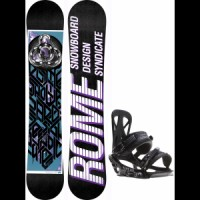 Rome-postermania-snowboard-with-rome-united-bindings Morrow Fury Snowboard With Rome United Bindings