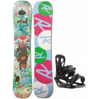 Rossignol-retox-amptek-snowboard-with-rome-united-bindings Rossignol Retox Amptek Snowboard With Rome United Bindings