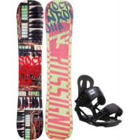 Rossignol-rocknrolla-amptek-snowboard-with-head-nx-one-bindings Rossignol Retox Amptek Snowboard With Rome United Bindings