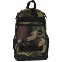 Rvca push skate ii backpack Quiksilver Julien David Oxydized Pro Light Backpack