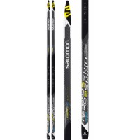 Salomon-aero-9-skin-medium-hard-xc-skis Rossignol X-tour Escape Nis Ar Xc Skis