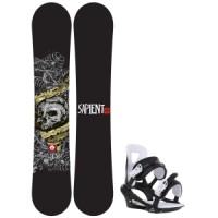 Sapient alive wide snowboard with chamonix savoy bindings Rossignol Trickstick Amptek Wide Snowboard With Head Nx One Bindings