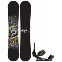 Sapient alive wide snowboard with rome united bindings Rossignol Trickstick Amptek Wide Snowboard With Head Nx One Bindings