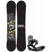 Sapient alive wide snowboard with sapient stash bindings Rossignol Trickstick Amptek Wide Snowboard With Head Nx One Bindings