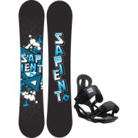 Sapient trust wide snowboard with head nx one bindings Sapient Mason Snowboard With Sapient Wisdom Bindings