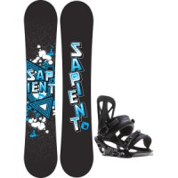 Sapient trust wide snowboard with rome united bindings Sapient Trust Wide Snowboard With Rome United Bindings