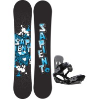 Sapient trust wide snowboard with sapient stash bindings Sapient Trust Wide Snowboard With Rome United Bindings