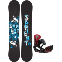 Sapient trust wide snowboard with sapient wisdom bindings Sapient Trust Wide Snowboard With Rome United Bindings