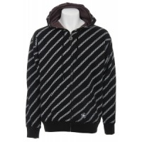 Sessions diagonal pin zip hoodie Sessions Diagonal Pin Zip Hoodie