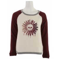 Vans-essex-crew-pullover-sweatshirt-creme Female Roxy Igloo Teenie Sweatshirt