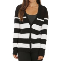 Volcom sneak out cardigan Female Roxy White Caps 3 Sweater